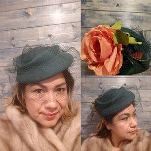 Vintage 40s Hat
